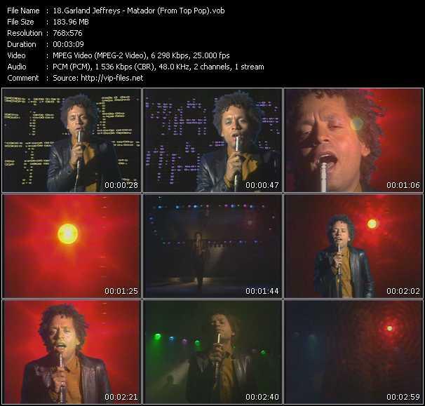 Garland Jeffreys - Matador (From Top Pop)