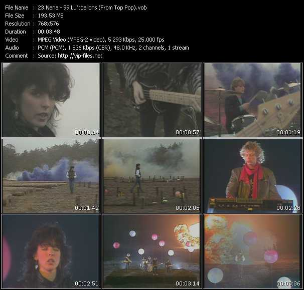 Nena - 99 Luftballons (From Top Pop)