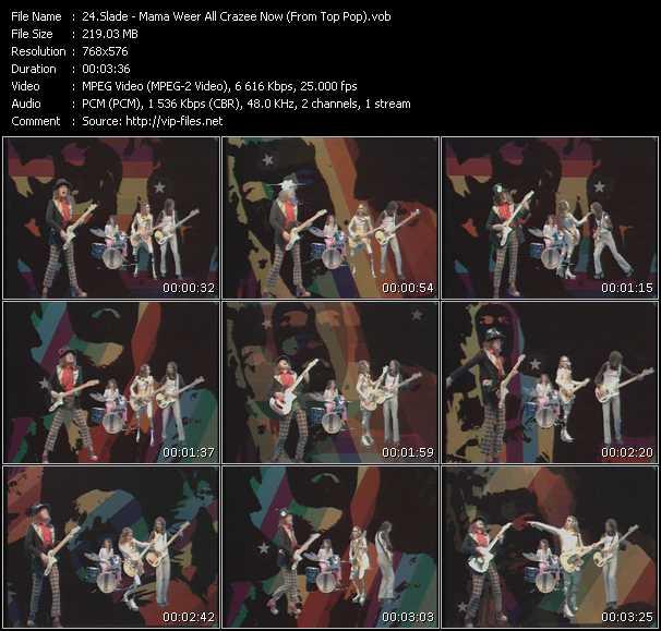 Slade - Mama Weer All Crazee Now (From Top Pop)