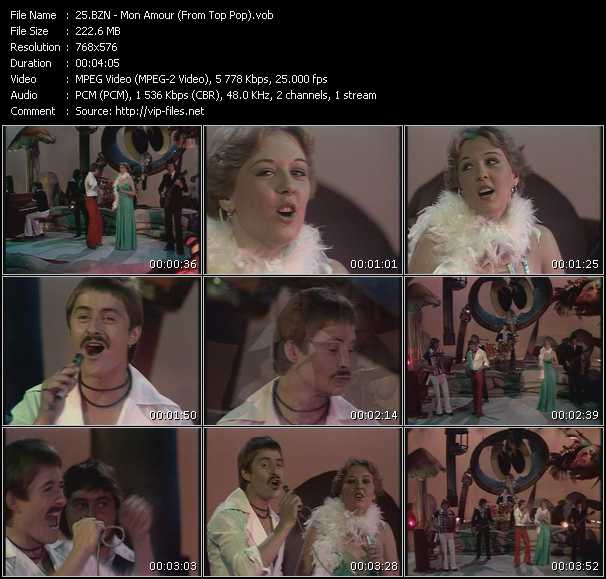 Bzn - Mon Amour (From Top Pop)