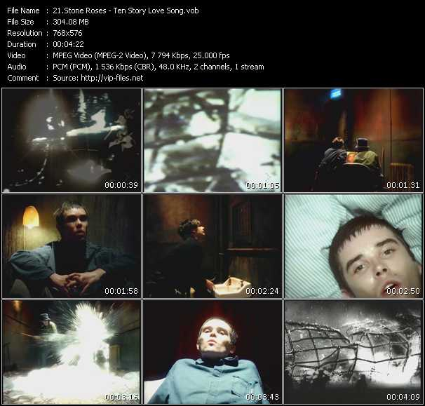 Stone Roses - Ten Story Love Song