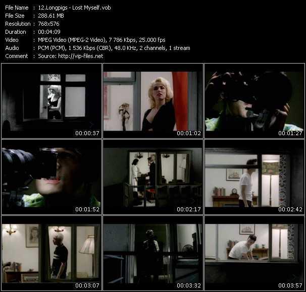 screenschot of Longpigs video