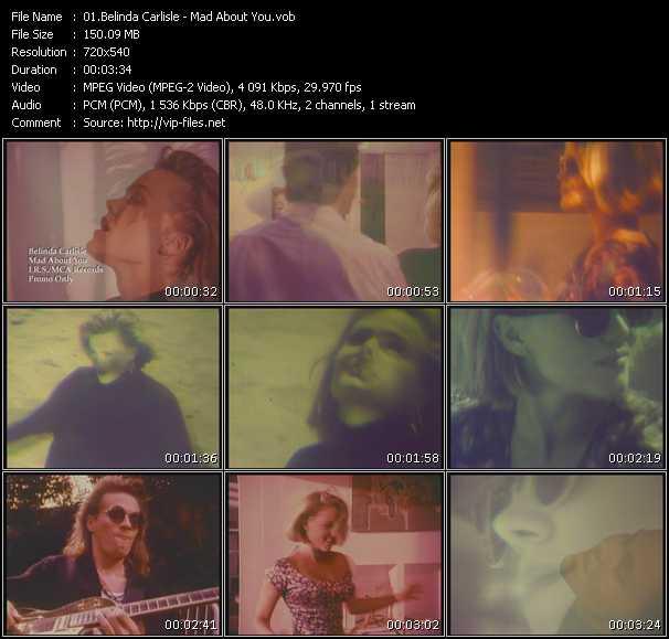 Belinda Carlisle - Mad About You