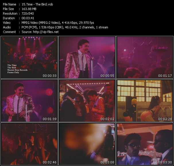 Time (Morris Day And The Time) - The Bird