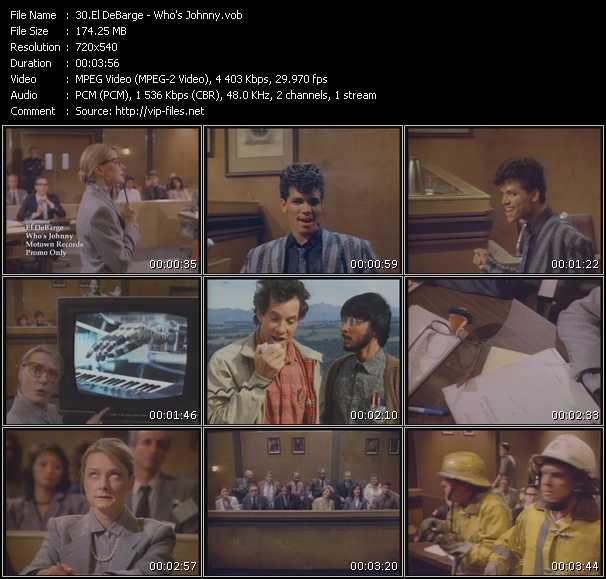 "El DeBarge - Who's Johnny (""Short Circuit"" Theme)"