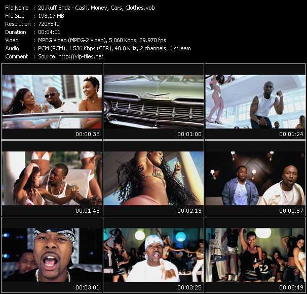 Ruff Endz Feat. Memphis Bleek - Cash, Money, Cars, Clothes