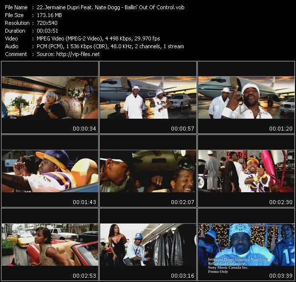 Jermaine Dupri Feat. Nate Dogg - Ballin' Out Of Control