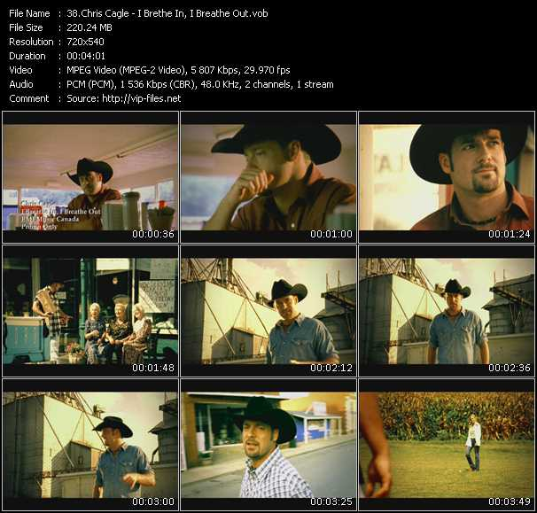 Chris Cagle - I Brethe In, I Breathe Out