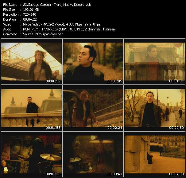 Savage Garden - Truly, Madly, Deeply