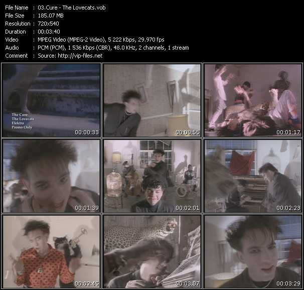 Cure - The Lovecats
