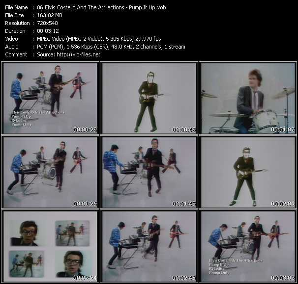 Elvis Costello And The Attractions - Pump It Up