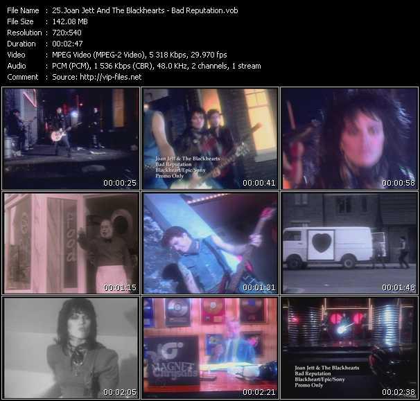 Joan Jett And The Blackhearts - Bad Reputation