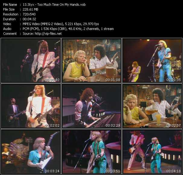 Styx - Too Much Time On My Hands