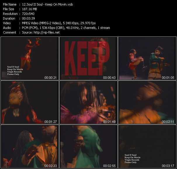Soul II Soul - Keep On Movin' (2nd Version)