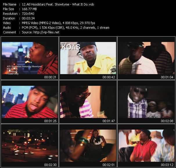 Atl Hoodstarz Feat. Showtyme - What It Do