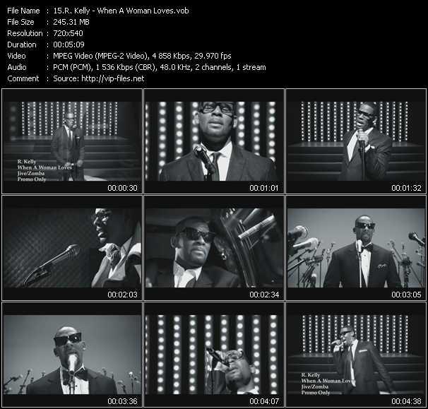 R. Kelly - When A Woman Loves