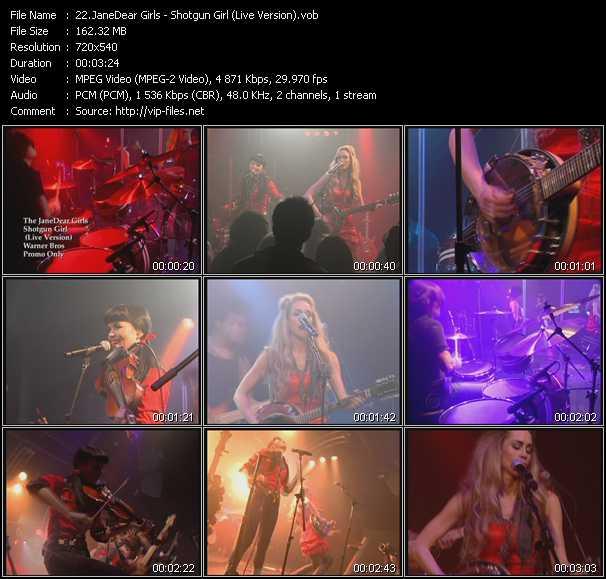 JaneDear Girls - Shotgun Girl (Live Version)