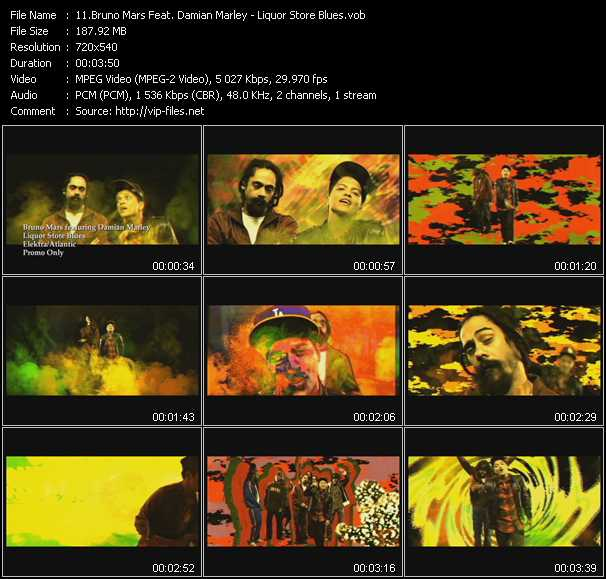 Bruno Mars Feat. Damian Marley - Liquor Store Blues