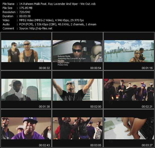 Raheem Malik Feat. Ray Lavender And Viper - We Out