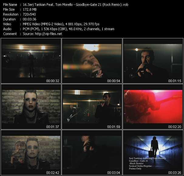 Serj Tankian Feat. Tom Morello - Goodbye-Gate 21 (Rock Remix)