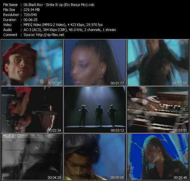 Black Box - Strike It Up (ETV Bonus Mix)
