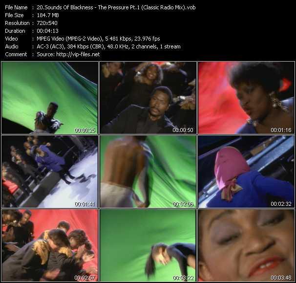 Sounds Of Blackness - The Pressure Pt.1 (Classic Radio Mix)