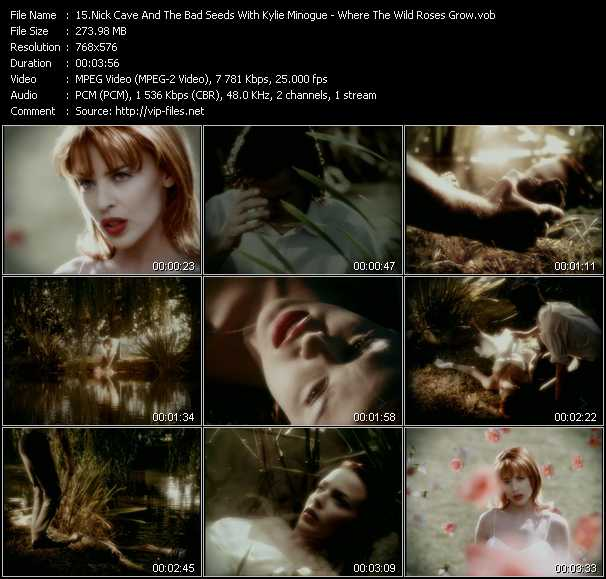 Nick Cave And The Bad Seeds With Kylie Minogue - Where The Wild Roses Grow