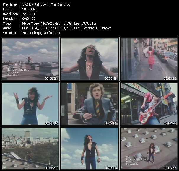 Dio (Ronnie James Dio) - Rainbow In The Dark
