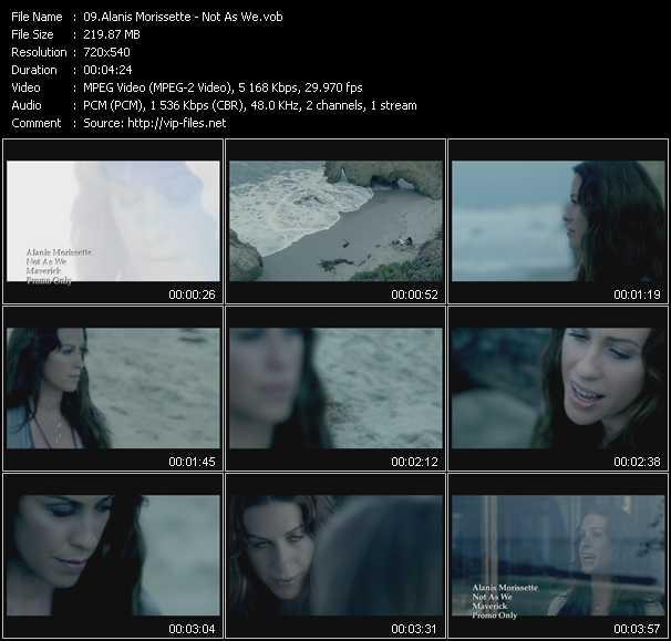 Alanis Morissette - Not As We