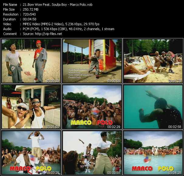 Bow Wow Feat. Soulja Boy Tell 'Em - Marco Polo