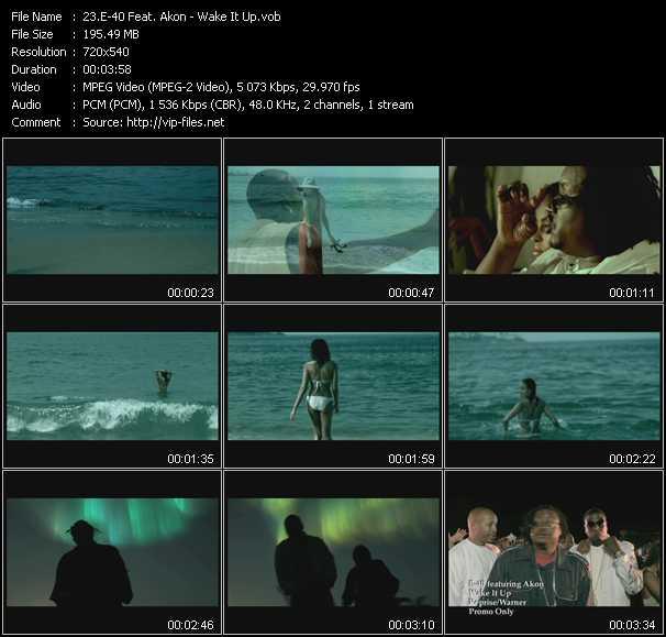 E-40 Feat. Akon - Wake It Up