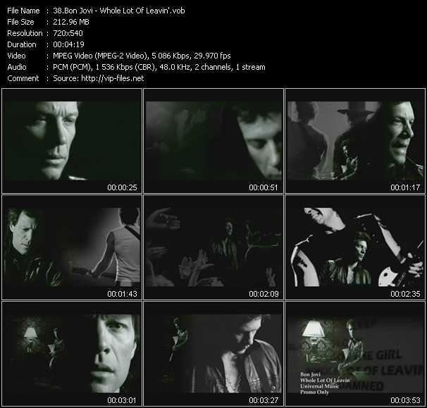 Bon Jovi - Whole Lot Of Leavin'