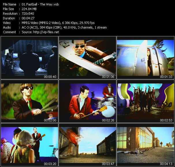 screenschot of Fastball video