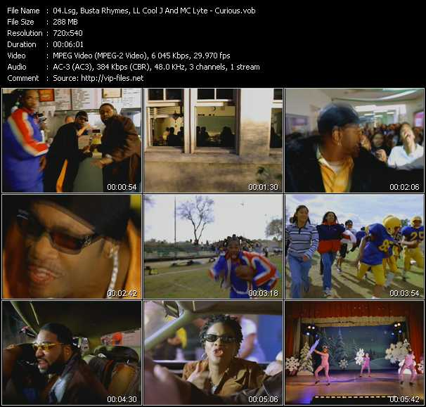 Lsg, Busta Rhymes, LL Cool J And Mc Lyte - Curious