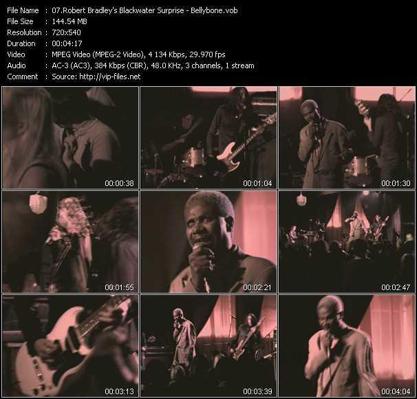 screenschot of Robert Bradley's Blackwater Surprise video