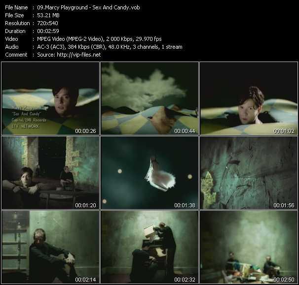 screenschot of Marcy Playground video