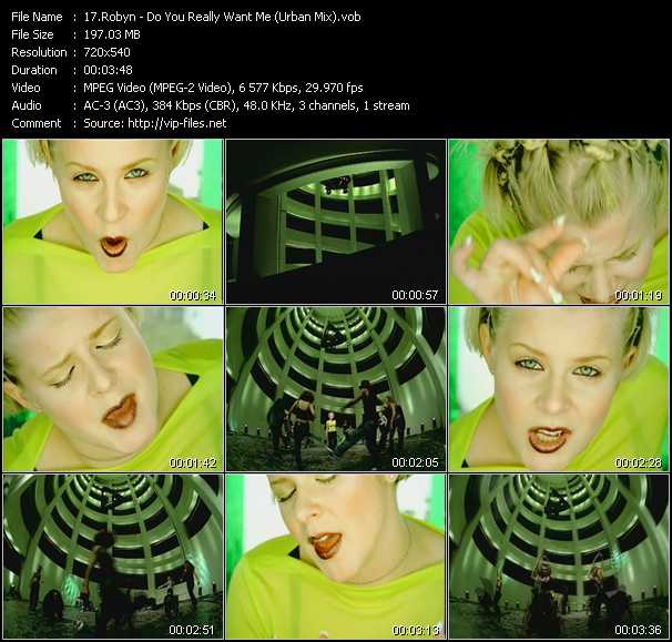 Robyn - Do You Really Want Me (Urban Mix)