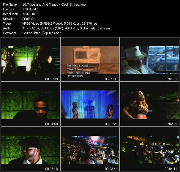 Timbaland And Magoo - Clock Strikes