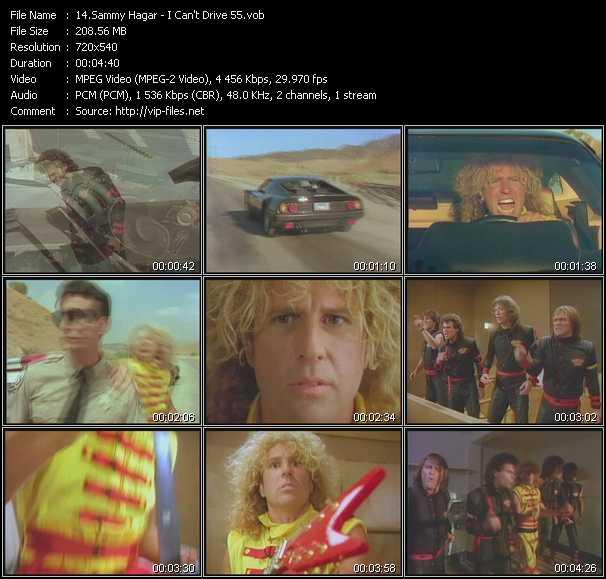 Sammy Hagar - I Can't Drive 55