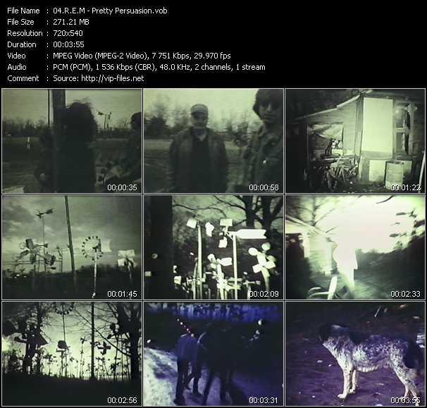 R.E.M. - Pretty Persuasion