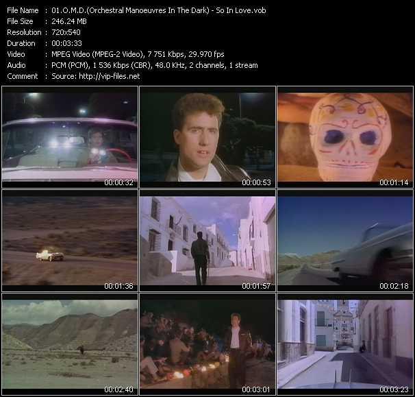 O.M.D. (Orchestral Manoeuvres In The Dark) - So In Love