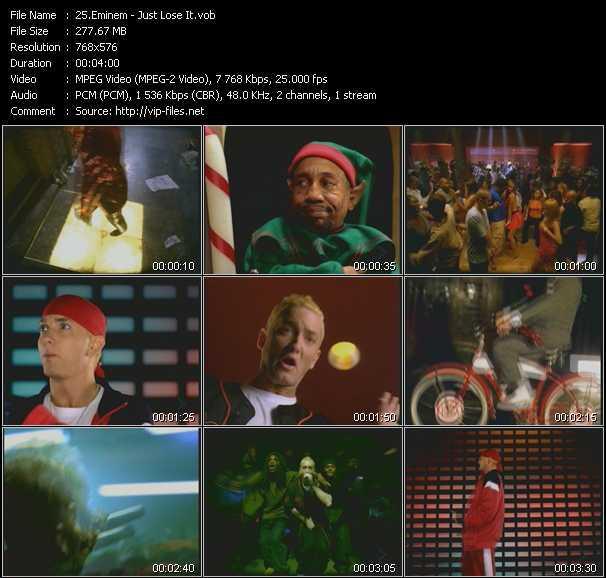 Eminem - Just Lose It