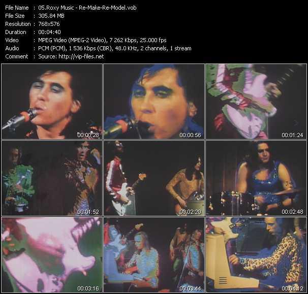 Roxy Music - Re-Make - Re-Model