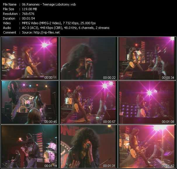 Ramones - Teenage Lobotomy (From Musikladen)