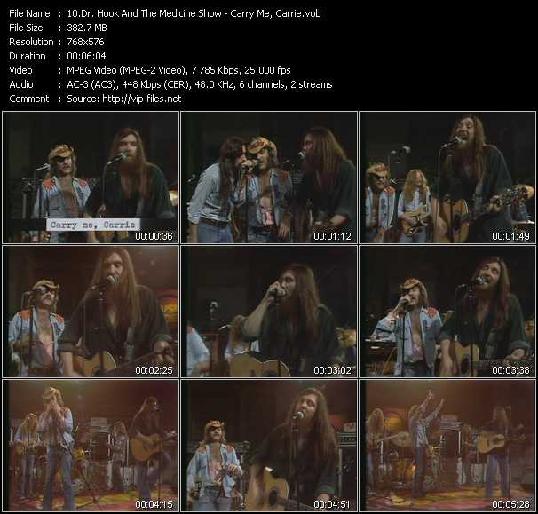 Dr. Hook And The Medicine Show - Carry Me, Carrie (From Musikladen)