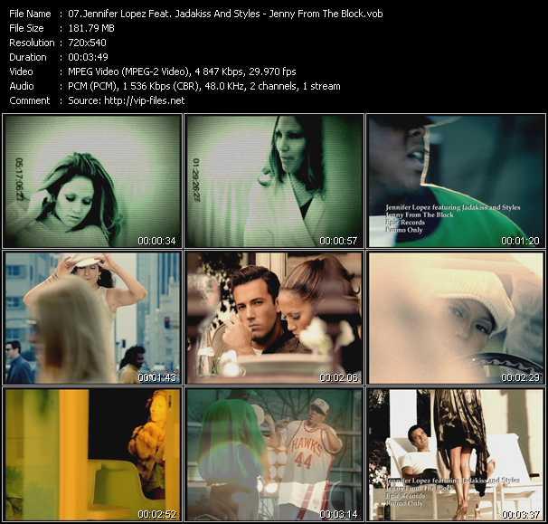 Jennifer Lopez Feat. Styles And Jadakiss - Jenny From The Block