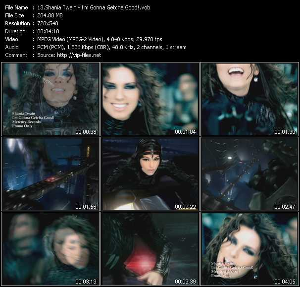 Shania Twain - I'm Gonna Getcha Good!