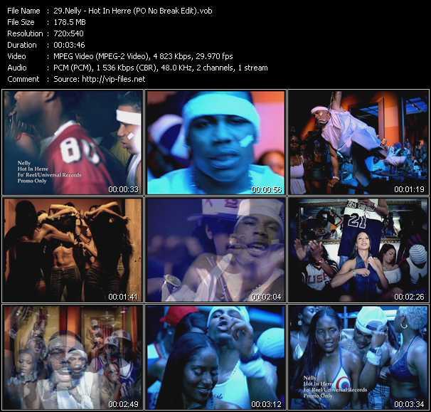 Nelly - Hot In Herre (PO No Break Edit)
