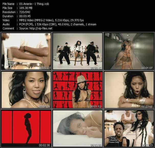 Amerie - 1 Thing