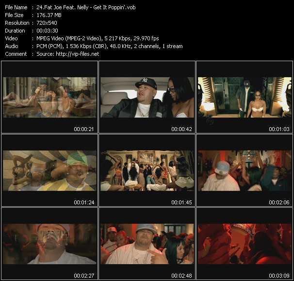 Fat Joe Feat. Nelly - Get It Poppin'
